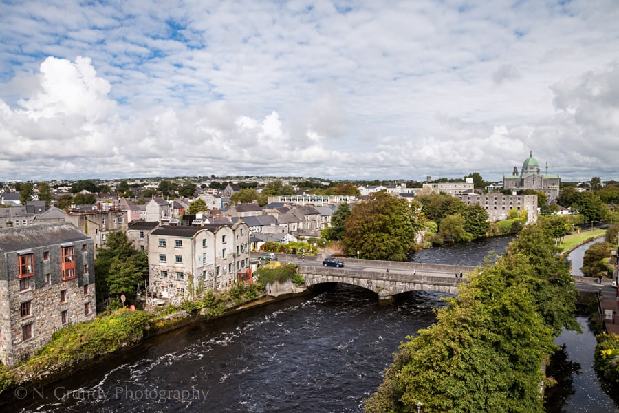 Aerial property photographer in Galway