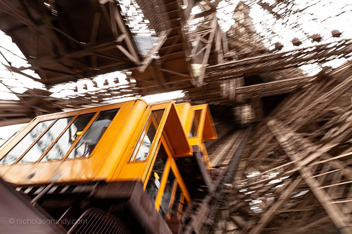 Eiffel Tower Elevator Photo