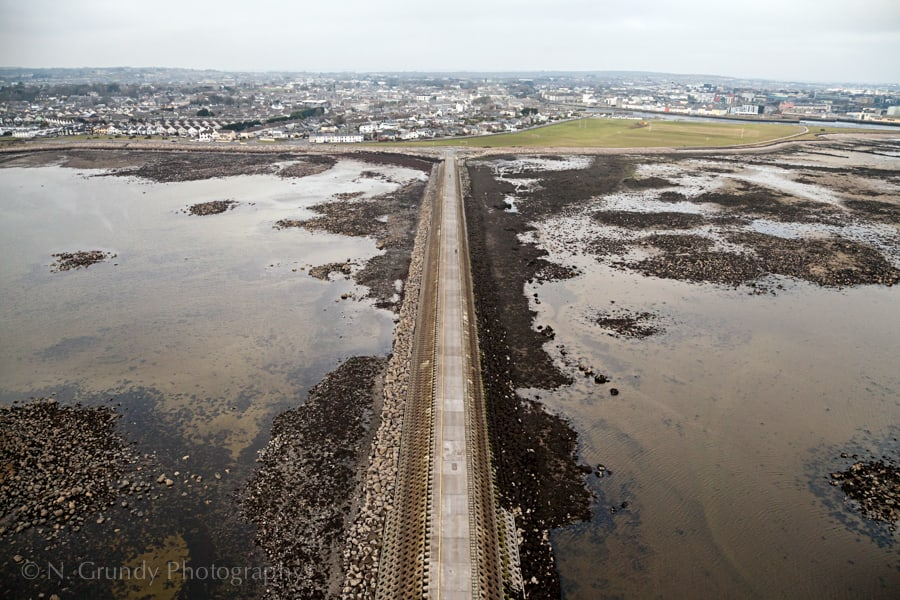 Mutton Island by Galway Aerial Photographer