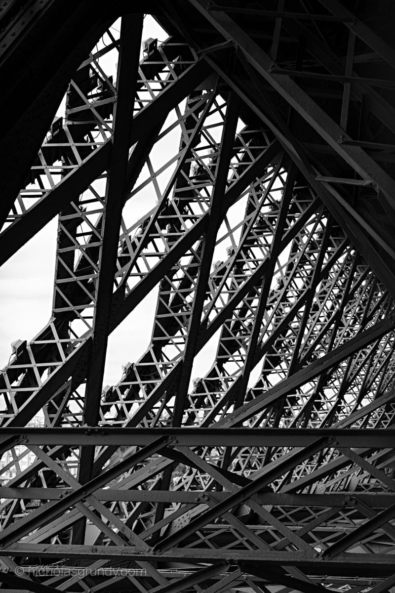 Tour Eiffel Noir Blanc Foto