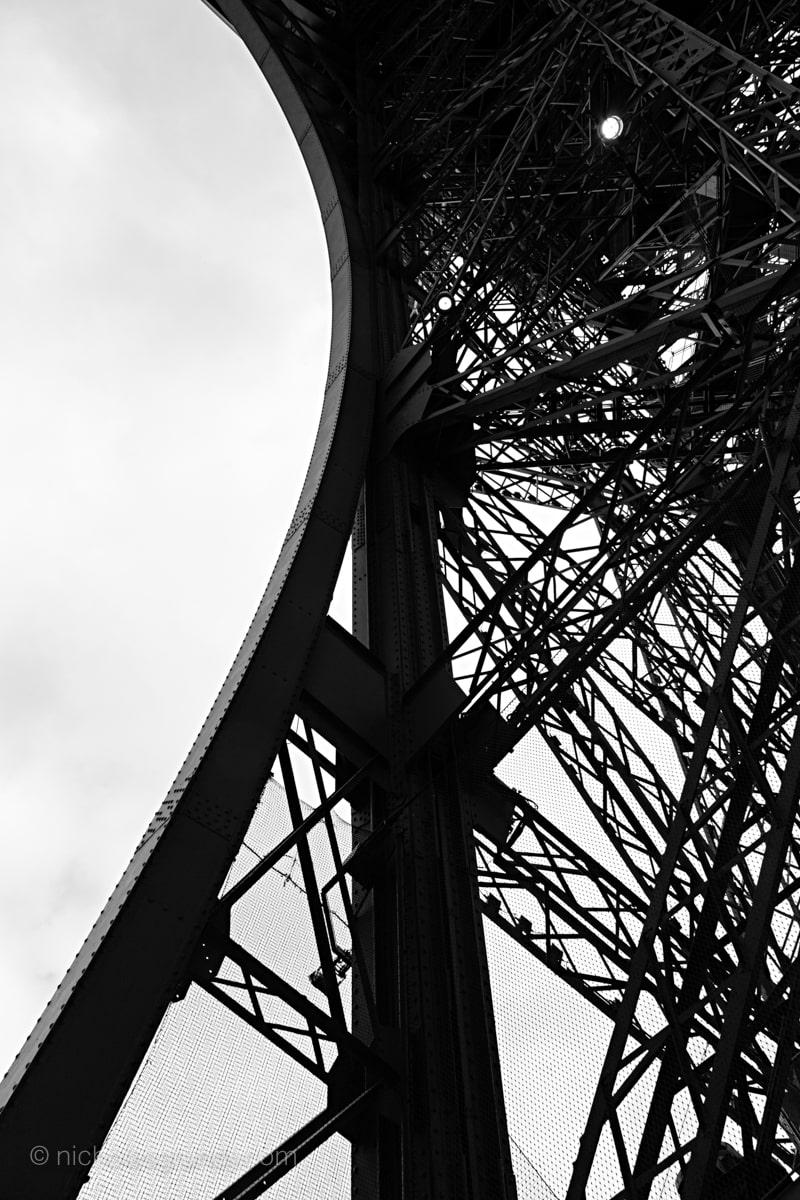 Eiffel Tower Structure Photo