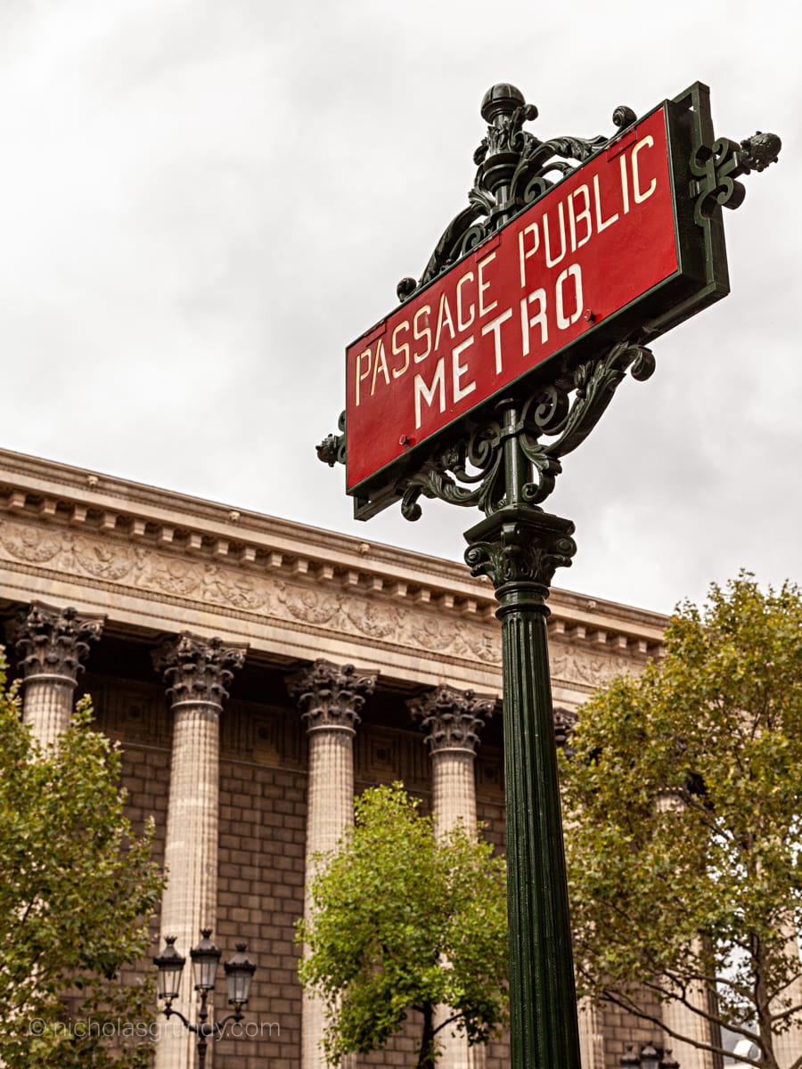 Paris Metropolitain Foto