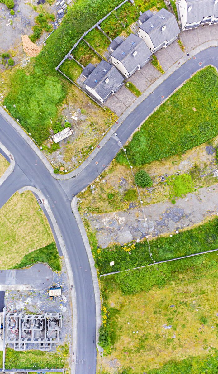 Roads to Nowhere Drone Photo Ireland