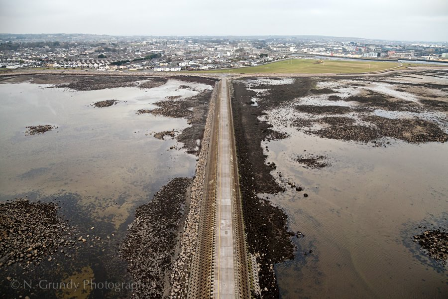 Mutton Island from Aerial Photographer in Galway
