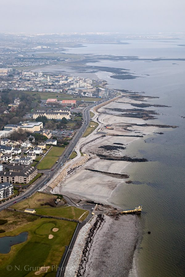Salthill by Aerial Photographer in Galway