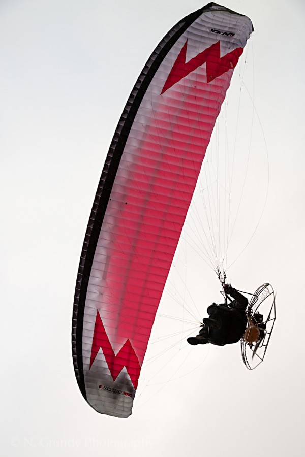 Paramotor by Aerial Photographer in Galway