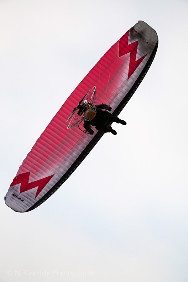 Powered Paraglider by Aerial Photographer in Galway Nicholas Grundy