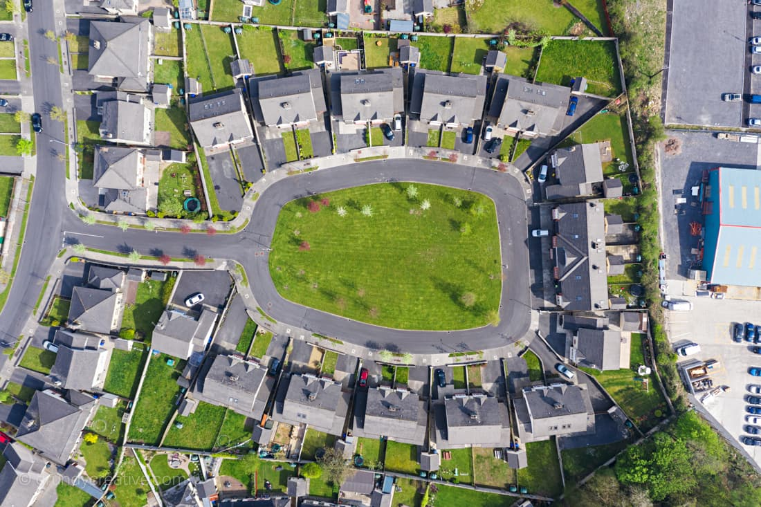 aerial photographer real estate ireland