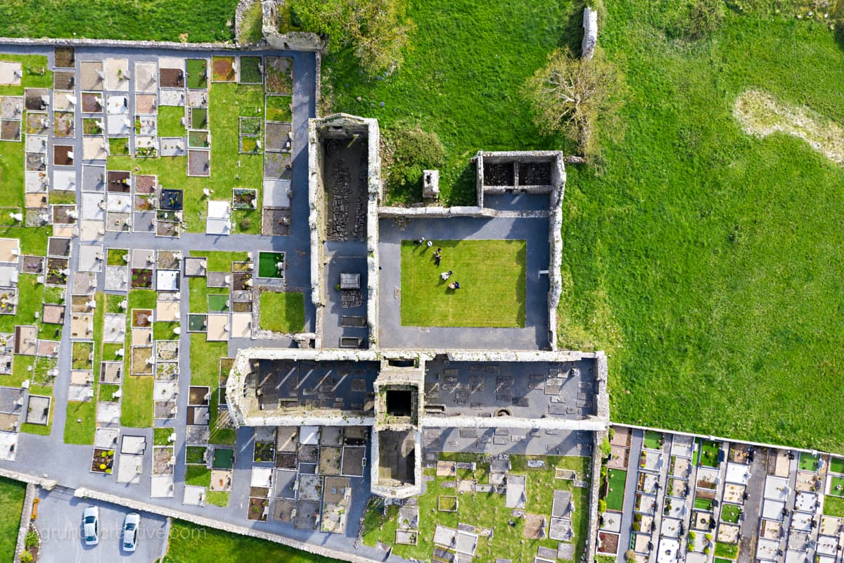 aerial wedding videographer ireland