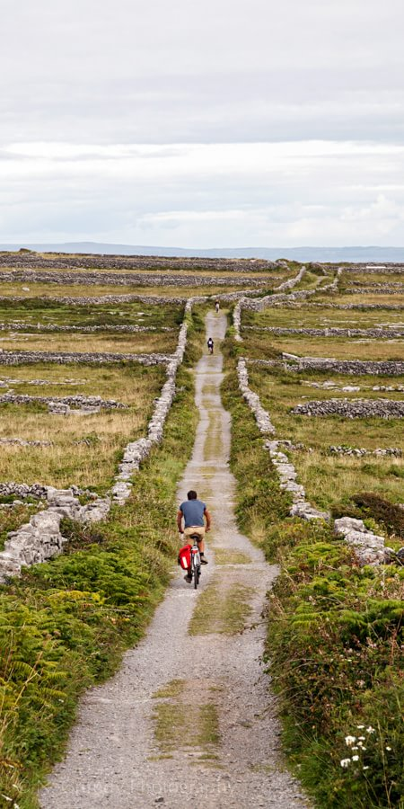 Aran Islands Bikes by Photographer in Galway