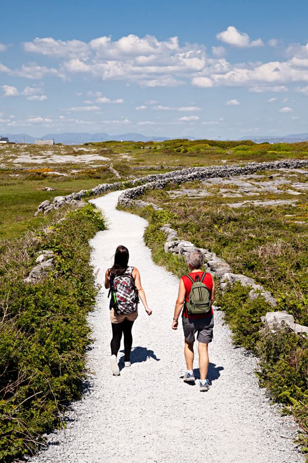 Aran Islands Walk Photograph