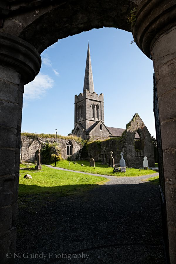 Athenry Church by Galway Photographer