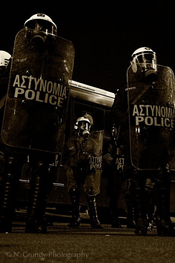 Athens Riot Police