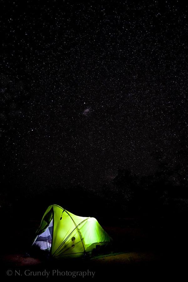 Australian Desert Stars Photograph