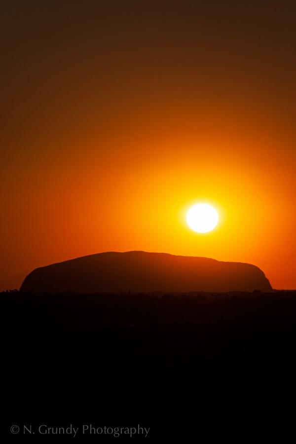 Uluru Sunrise Photo