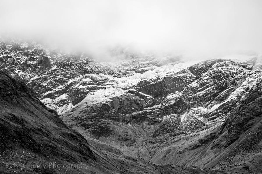 Ben Lugmore black and white landscape photo