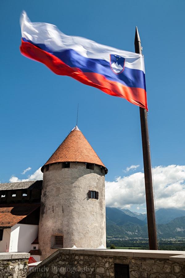 Bled Castle Flag