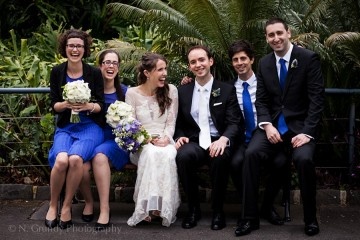 Bridesmaids and Groomsmen Photo