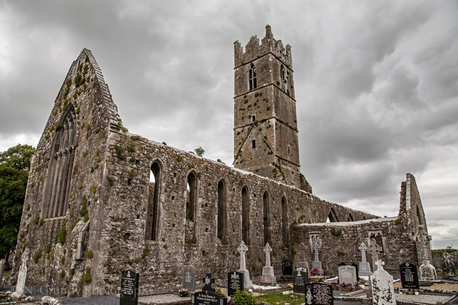 Claregalway Abbey by Photographer in Galway