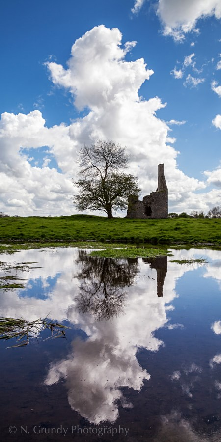 Cloud Reflection by County Galway Photographer