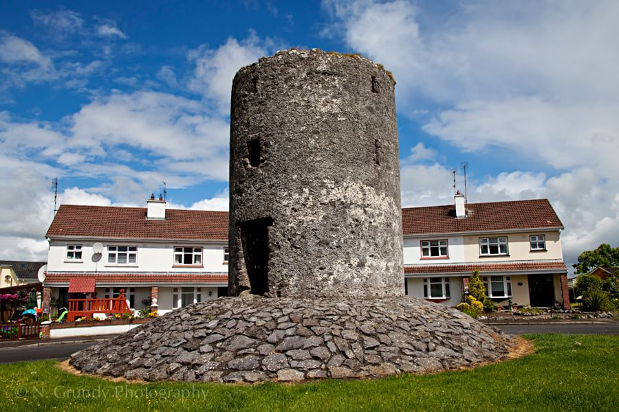 Suburban Castle Tower Photo in County Galway