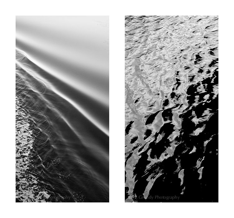 Dark Water Fine Art Photographic Diptych