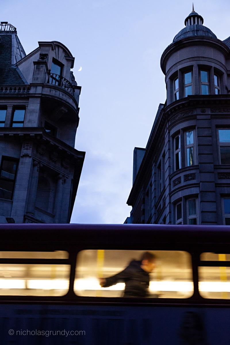 Double Decker Bus Passenger London