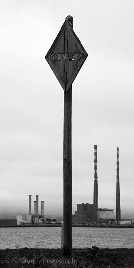 Dublin Industrial Landscape by Dublin Industrial Photographer