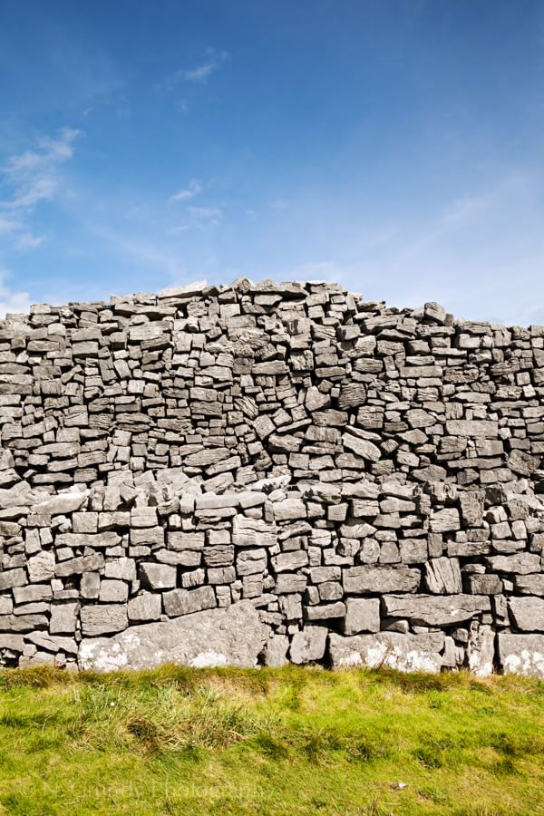 Dun Aonghasa Wall Photograph Ireland