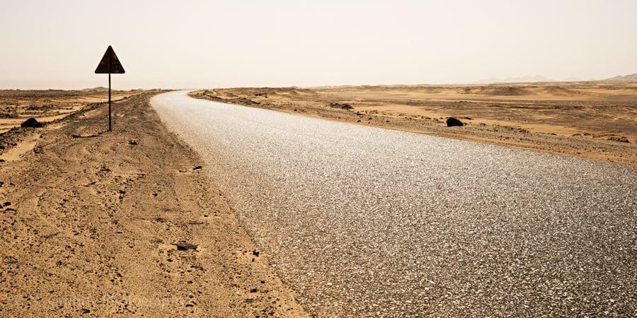 Black Desert Highway Photo Egypt