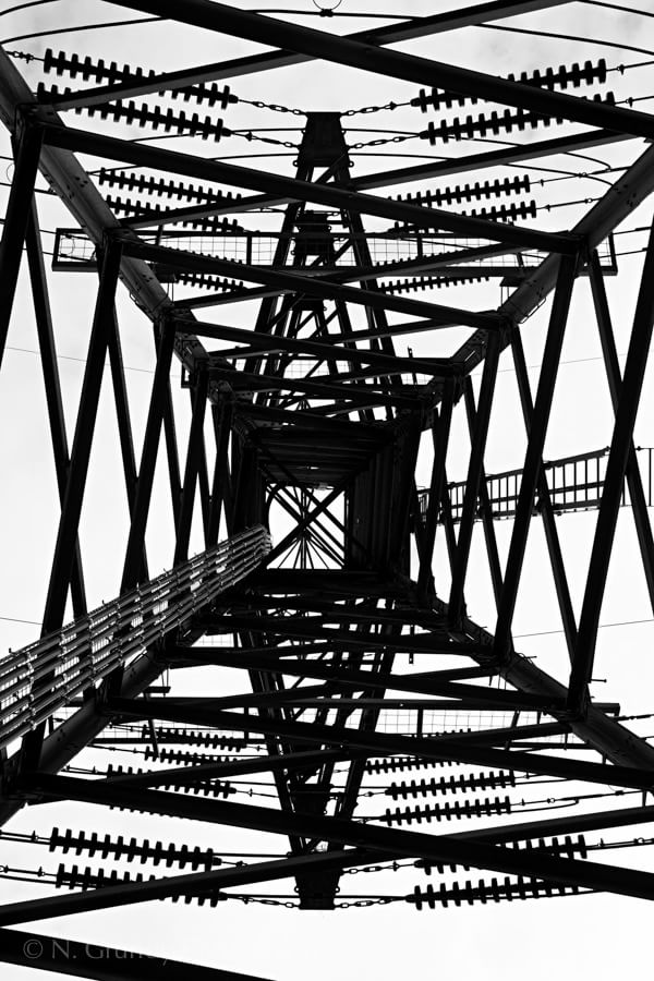 Electric Symmetry Industrial Photo