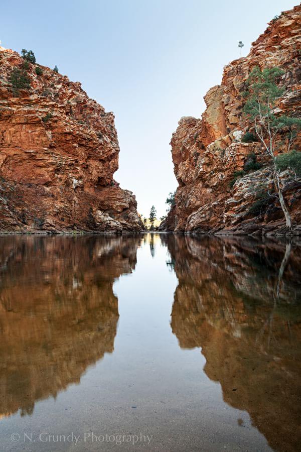 Ellery Creek Big Hole Reflection Photo
