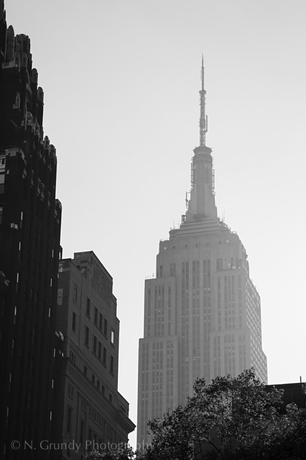 Empire State Building Haze