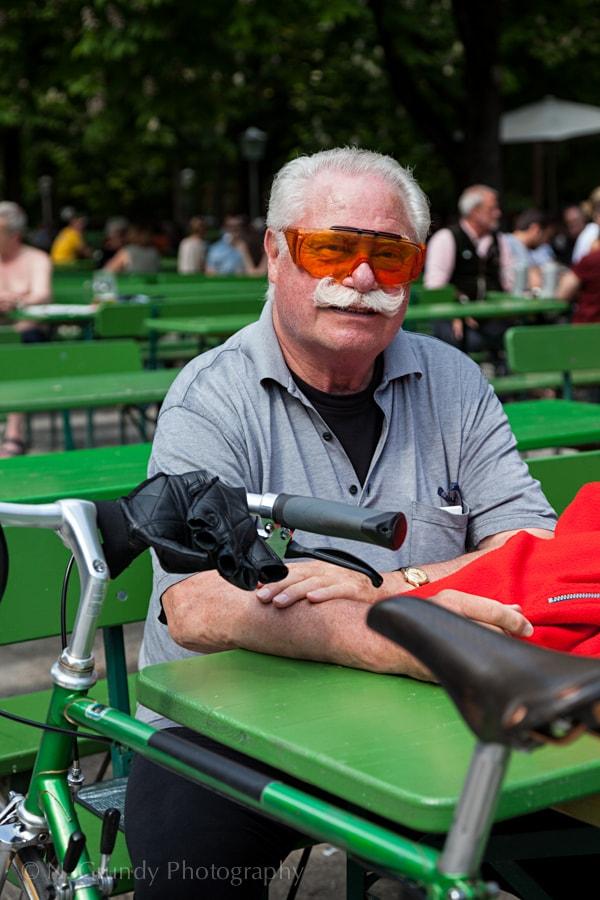 Englischer Garten Cyclist