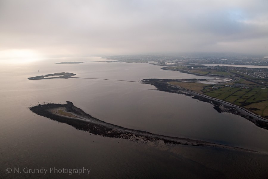 Rabbit, Hare and Mutton Islands by Aerial Photographer in Galway