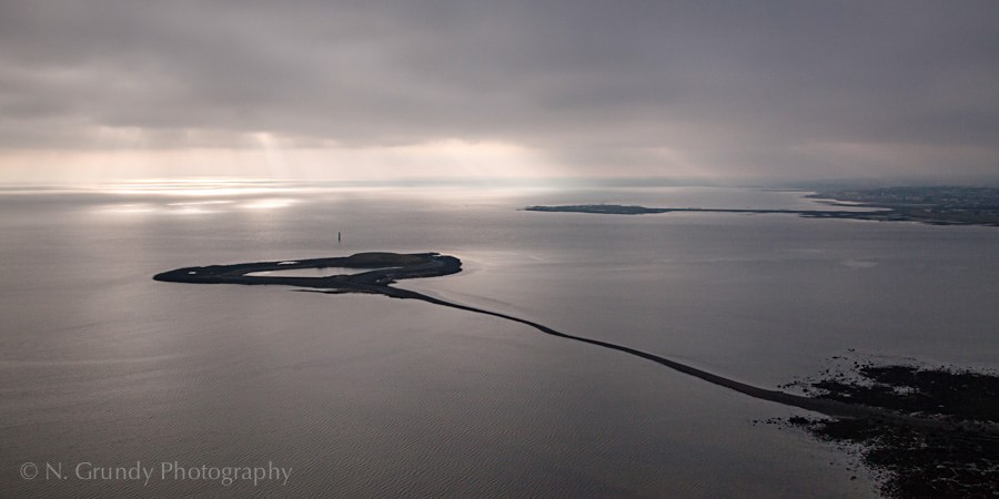 Hare and Mutton Islands by Galway Aerial Photographer