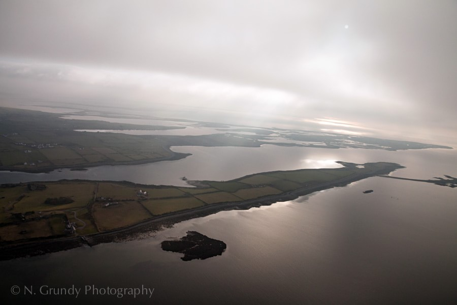 Ardfry Peninsula by Galway Aerial Photographer