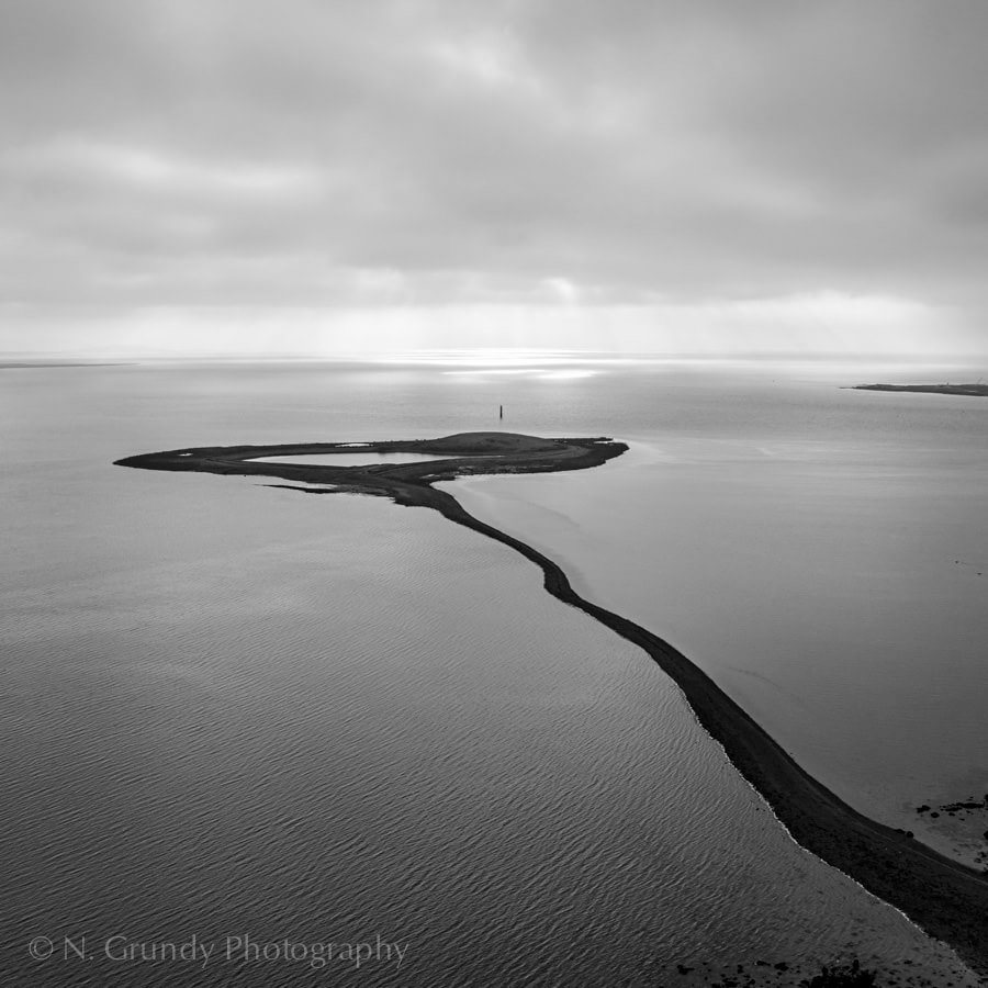 Galway Aerial Photography of Hare Island