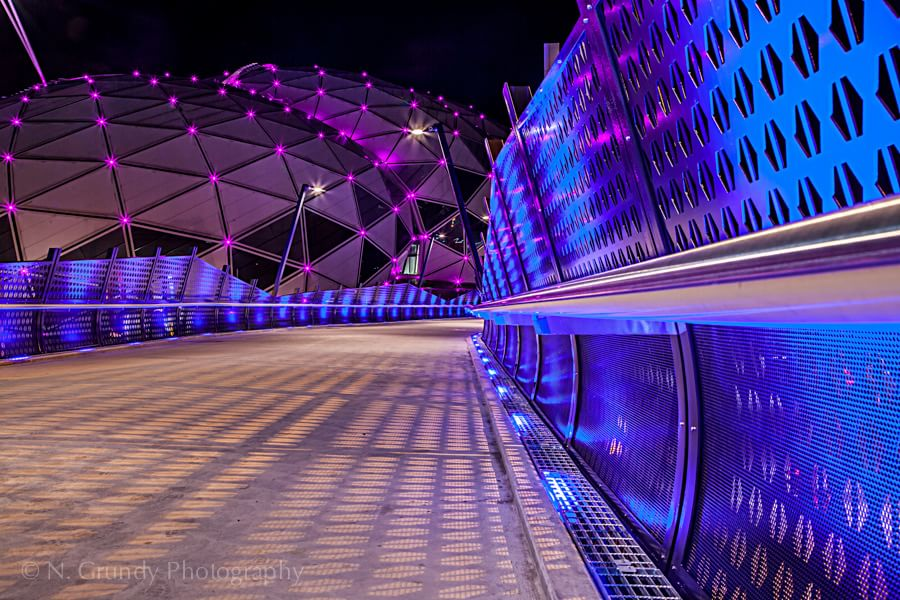 Perfect Architecture Photography At Night Bokeh By Peterwey