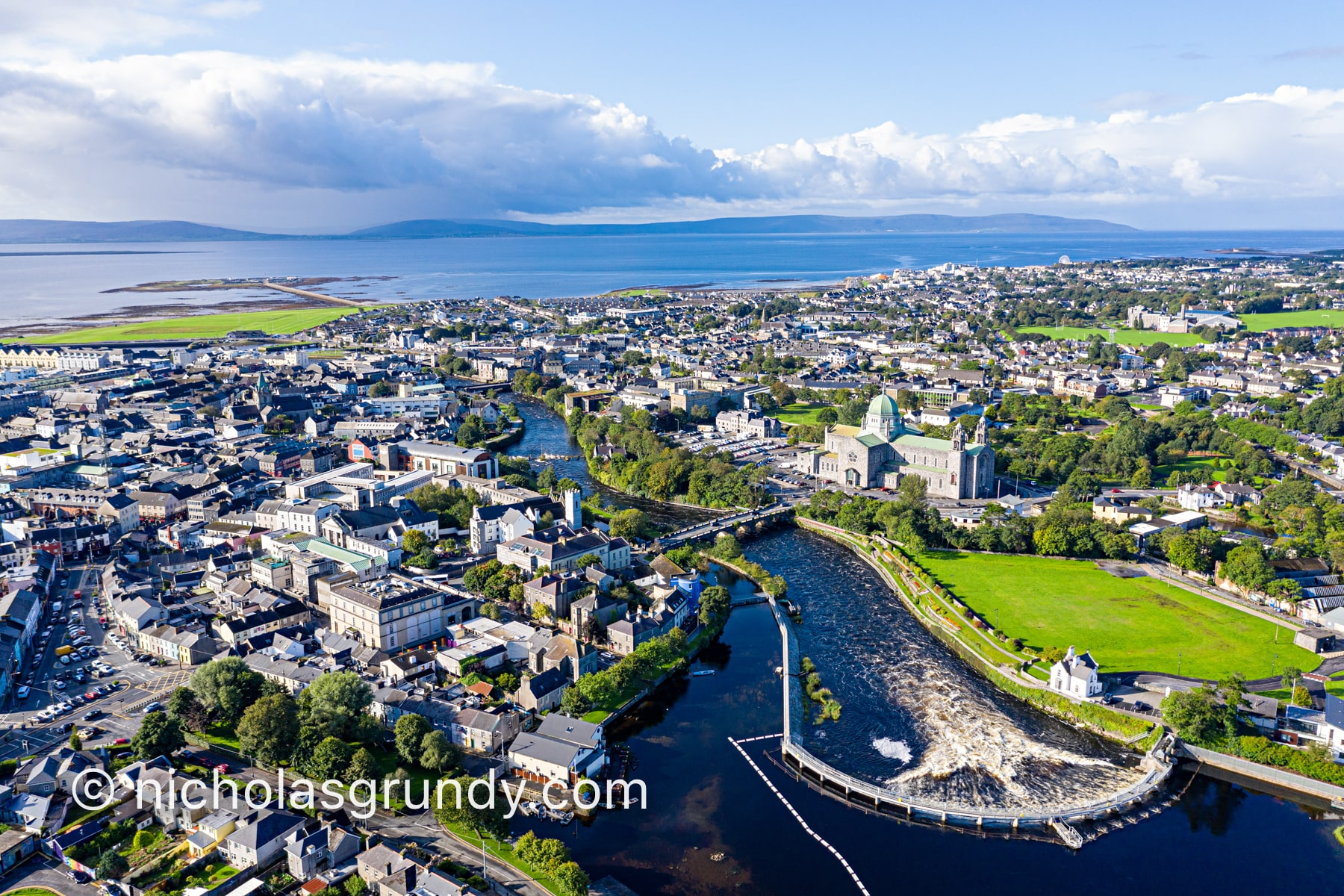 Galway City Drone Photo