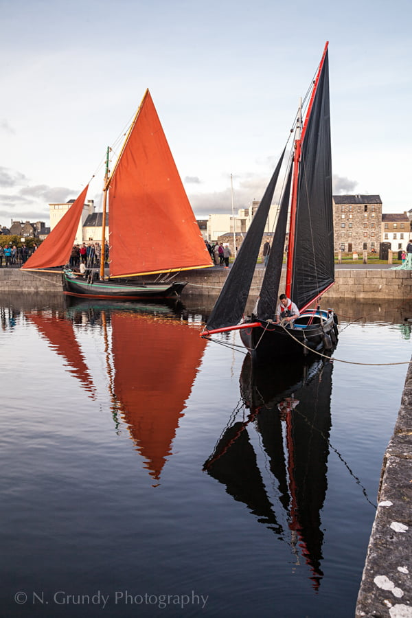 Galway Hooker Boat Photography