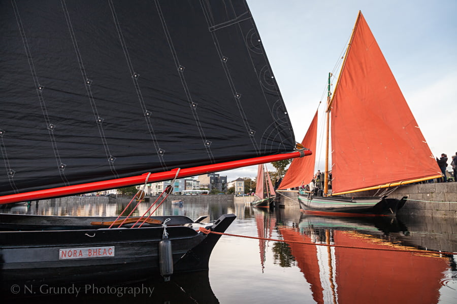 Black and Red Galway Hookers