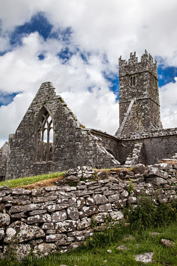 Photograph of Ross Abbey in Galway