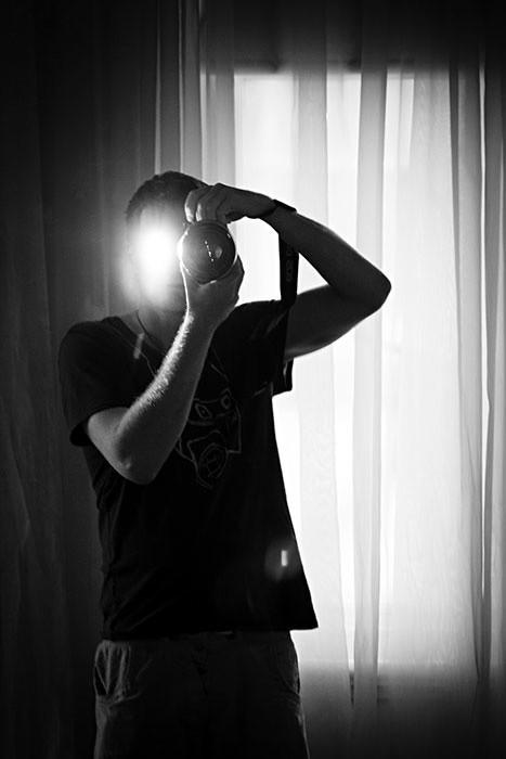 Galway Photographer Self-Portrait