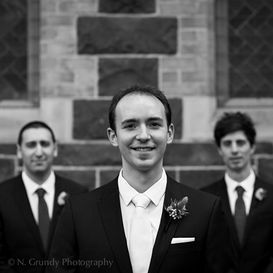 Groomsmen Photo by Galway Wedding Photographer