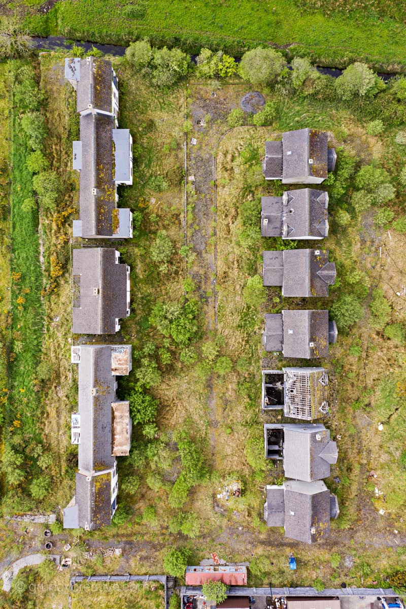 Ghost Estate Aerial Photography Ireland