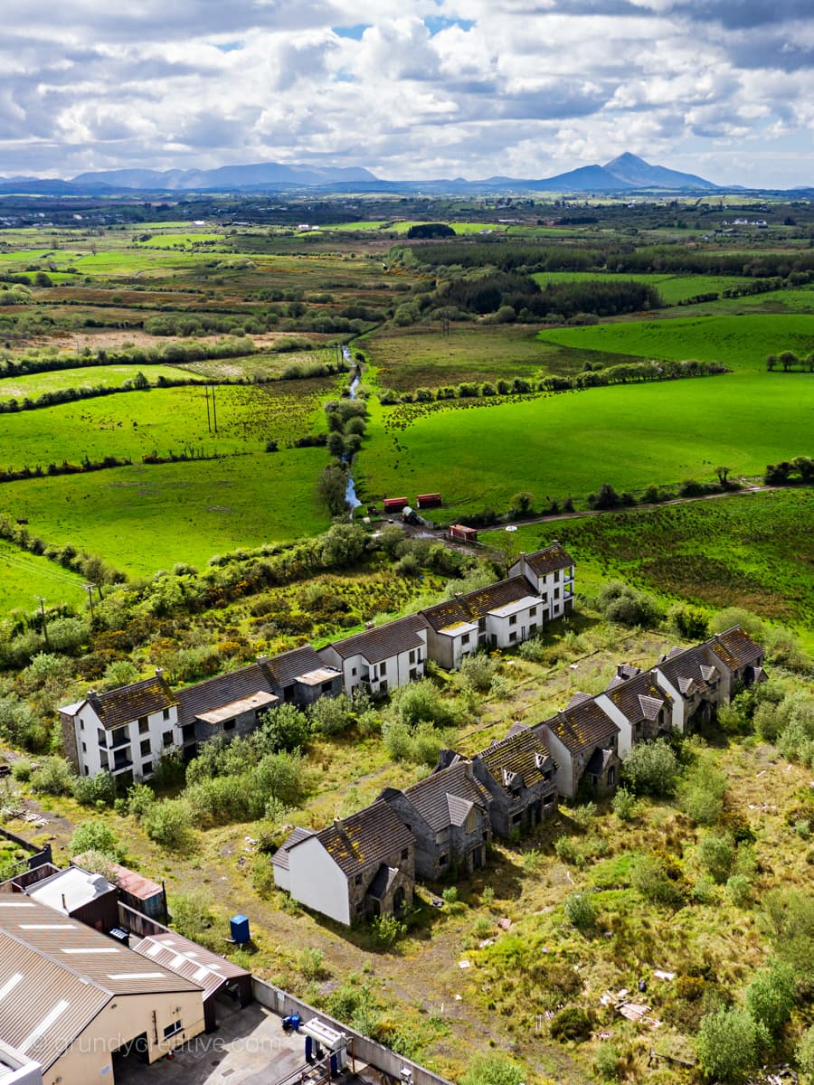 Ghost Estate and Croagh Patrick Photo