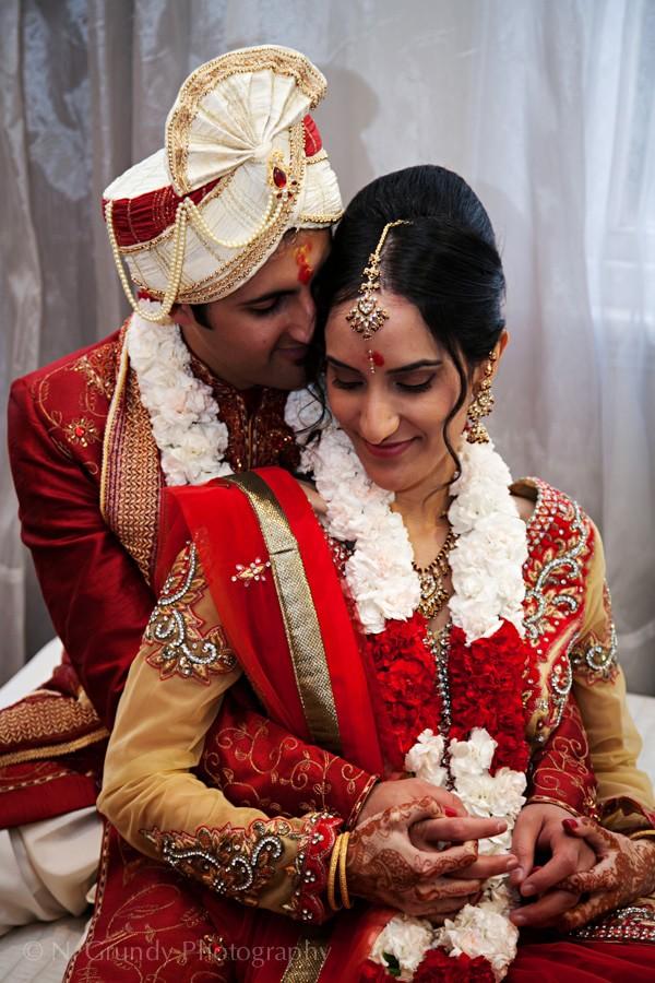 Hindu Bridge and Groom Galway Wedding Photos