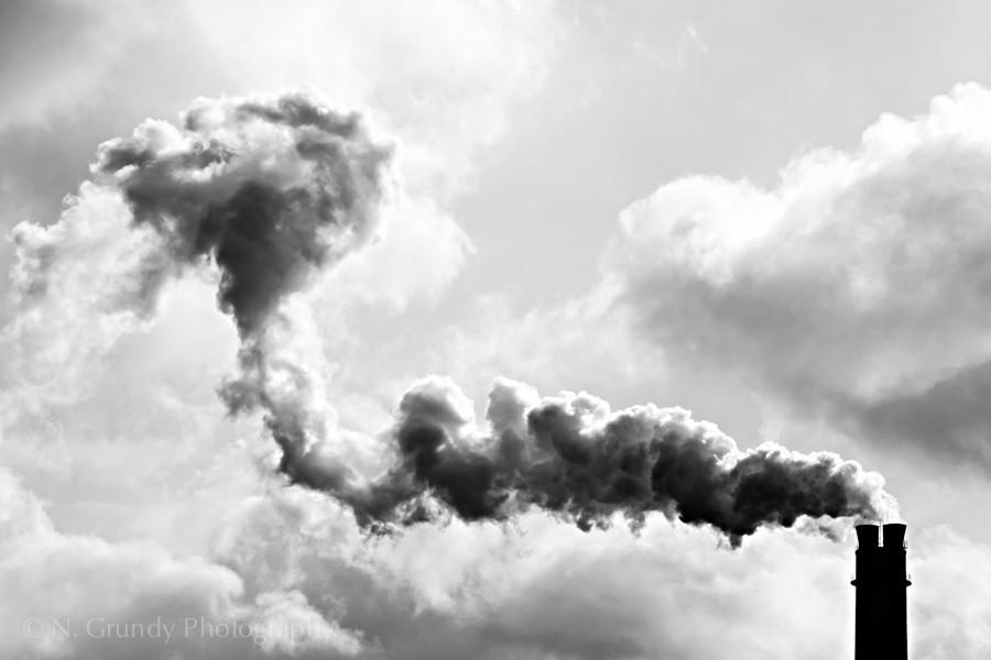 Industrial Photographer Rummelsburg Smoke