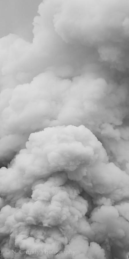 Industrial Smoke Photograph Ireland
